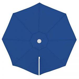 PARAMONDO Toile de rechange pour parasol avec Air Vent pour parasol à mât excentré Parapenda (3,5m / ronde), bleu de la marque PARAMONDO image 0 produit