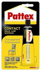 Pattex 1563743 Colle forte contact Blister 50 g Transparent de la marque Pattex image 0 produit
