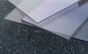Plaque en polycarbonate UV transparente 2050 x 1250 x 3 mm incolore alt-intech® de la marque alt-intech PC/PMMA Plaque image 0 produit