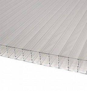 Plaque polycarbonate alvéolaire translucide 32mm de la marque Dhaze Plastique image 0 produit