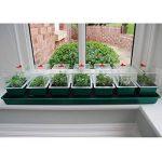 Poupée de jardinage auto-arrosante Britten & James®. 7 en 1 Windowsill Propagator ensemble. Sept mini-propagateurs individuels de qualité professionnelle avec un système unique d'arrosage alimenté par capillarité. Les couvercles transparents avec des côté image 2 produit