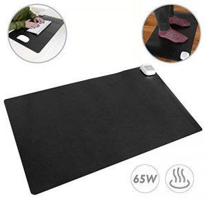 PrimeMatik - Tapis et Surface chauffante Moquette Thermique pour Bureau Sol et Pieds 60 x 36 cm 65W Noir de la marque PrimeMatik.com image 0 produit