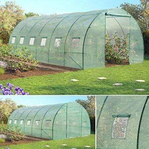 Probache - Grande serre de jardin tunnel 7 arceaux Pro galvanise 18m² 6x3x2m de la marque Probache image 0 produit