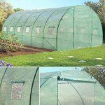 Probache - Grande serre de jardin tunnel 7 arceaux Pro galvanise 18m² 6x3x2m de la marque Probache image 2 produit