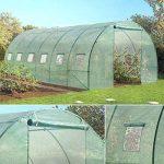 Probache - Grande serre de jardin tunnel 7 arceaux Pro galvanise 18m² 6x3x2m de la marque Probache image 4 produit