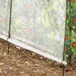 ProBache - Serre à tomates new 3 arceaux 200x120x180cm de la marque Probache image 1 produit