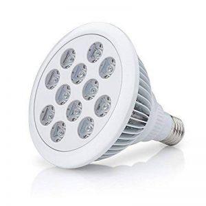 Roleadro 12w E27 LED Horticole Lampe de Floraison pour Plantes LED Ampoule de Culture Bleu et Rouge Ray dans Mini Serre de Jardin. de la marque Roleadro image 0 produit