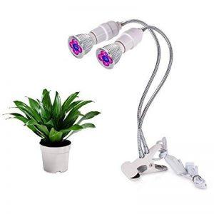 Roleadro Lampe Horticole LED Grow E27 Ampoule Double 360 Degrés Réglable LED pour Plante Culture Croissance Et Floraison de la marque Roleadro image 0 produit