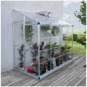 Serre adossée LEAN Hybrid Grow 3,05 m² de la marque Palram image 0 produit