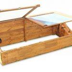Serre avec châssis en bois pour semis précoces de la marque GreenSeason image 3 produit