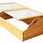 Serre avec châssis en bois pour semis précoces de la marque GreenSeason image 2 produit