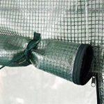 Serre à bâche renforcée/fenêtre de ventilation - pour les tomates/légumes de la marque Harbour Housewares image 1 produit