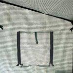 Serre à bâche renforcée/fenêtre de ventilation - pour les tomates/légumes de la marque Harbour Housewares image 3 produit