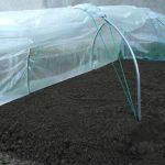 Serre Chenille de jardin- Largeur 1m30- Pvc armé Robustex 400 microns- avec aération SERRECHENILLE_0 de la marque les Serres Tonneau image 2 produit