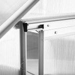 serre de jardin aluminium polycarbonate TOP 7 image 3 produit