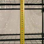 Serre de jardin, balcon, terrasse – Structure acier vert housse PVC transparente imperméable – Mini serre transportable 3 étagères L69*P49*H125 cm – Interouge de la marque INTEROUGE image 4 produit