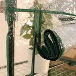 Serre de jardin, balcon, terrasse – Structure acier vert housse PVC transparente imperméable – Mini serre transportable 3 étagères L69*P49*H125 cm – Interouge de la marque INTEROUGE image 3 produit