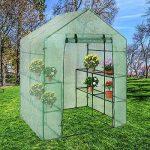 Serre de Jardin en Forme de Grille pour Tomates et Autres Plantes (ne contient pas de cadre en fer) de la marque Gorgebuy image 1 produit