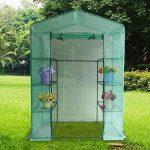 Serre de Jardin en Forme de Grille pour Tomates et Autres Plantes (ne contient pas de cadre en fer) de la marque Gorgebuy image 3 produit