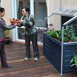 Serre de jardin potager adossable GAYA 0,74 m² de la marque Chalet et jardin image 3 produit