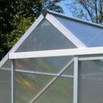 Serre Gris Argent Lacewing Tradition 2,23 m² en Aluminium avec embase de la marque Primrose image 2 produit