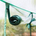 Serre Mini plante Coque Tomate Tente de jardin en PVC Vert Maison Maison Plante Serre Coque Solution Portable Intérieur Extérieur pour faire pousser Graines, semis, plantes en pot (sans support) de la marque ZSL image 3 produit