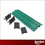 Serre à tomates 1 x 0,50 x 1m bache PVC de la marque Berlan image 4 produit
