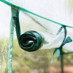 Serre à tomates, PE Plante Coque Légumes Tente avec fermeture Éclair enroulable Porte (cadre non inclus) de la marque Lembeauty image 1 produit