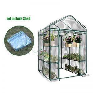 Serre transparente en PVC, tente de jardin pour intérieur ou extérieur, pour semis, culture fines herbes ou fleurs (armature non incluse) de la marque Lembeauty image 0 produit