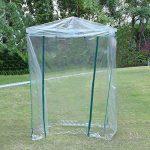 Serre transparente en PVC, tente de jardin pour intérieur ou extérieur, pour semis, culture fines herbes ou fleurs (armature non incluse) de la marque Lembeauty image 3 produit