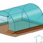 Serre tunnel Richel 12m² largeur 3 m x 4 m de la marque Richel image 3 produit