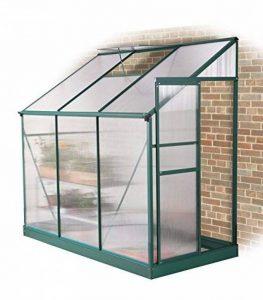 Serre Verte Adossée Lacewing Tradition 2,97 m² en Aluminium (sans embase) de la marque Primrose image 0 produit