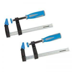 Silverline 590588 Lot 2 serre-joints à visser 150 x 50 mm de la marque Silverline image 0 produit