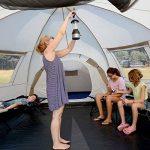 SKANDIKA Turin 12 – Tente Camping Familiale 12 Personnes - 840x720x200cm - 3 Cabines de la marque SKANDIKA image 3 produit
