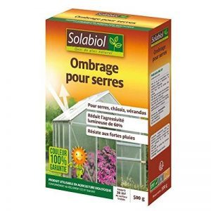 Solabiol SOS500 Ombrage pour Serres, Chassis et Verandas 500 G, Incolore, 14.3 x 5.5 x 19.8 cm de la marque Solabiol image 0 produit
