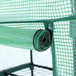 SONGMICS Serre de Jardin avec Housse 140 g/m² PE Plastique 3 Étagères GWP03L de la marque SONGMICS image 4 produit