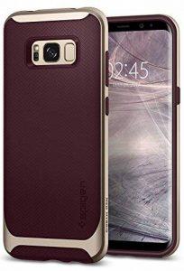 Spigen Coque Galaxy S8 Plus, [Neo Hybrid] Premium Bumper [Burgundy] Bumper Style Premium Etui Slim Fit Dual Layer Protective Coque Samsung Galaxy S8+ (2017) - 571CS21649 de la marque Spigen image 0 produit