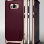 Spigen Coque Galaxy S8 Plus, [Neo Hybrid] Premium Bumper [Burgundy] Bumper Style Premium Etui Slim Fit Dual Layer Protective Coque Samsung Galaxy S8+ (2017) - 571CS21649 de la marque Spigen image 1 produit