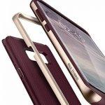 Spigen Coque Galaxy S8 Plus, [Neo Hybrid] Premium Bumper [Burgundy] Bumper Style Premium Etui Slim Fit Dual Layer Protective Coque Samsung Galaxy S8+ (2017) - 571CS21649 de la marque Spigen image 2 produit