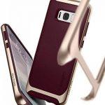 Spigen Coque Galaxy S8 Plus, [Neo Hybrid] Premium Bumper [Burgundy] Bumper Style Premium Etui Slim Fit Dual Layer Protective Coque Samsung Galaxy S8+ (2017) - 571CS21649 de la marque Spigen image 3 produit