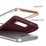 Spigen Coque Galaxy S8 Plus, [Neo Hybrid] Premium Bumper [Burgundy] Bumper Style Premium Etui Slim Fit Dual Layer Protective Coque Samsung Galaxy S8+ (2017) - 571CS21649 de la marque Spigen image 4 produit