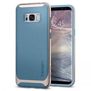 Spigen Coque Galaxy S8 Plus, [Neo Hybrid] Premium Bumper [Niagara Bleu] Bumper Style Premium Etui Slim Fit Dual Layer Protective Coque Samsung Galaxy S8+ (2017) - 571CS21647 de la marque Spigen image 0 produit