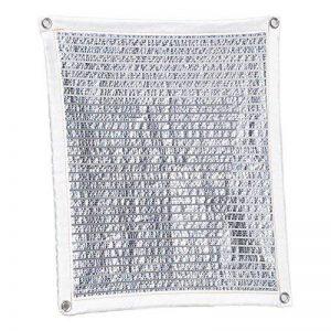 Sunblock Feuille D'aluminium Maille Ombre Tissu Tissu Résistant À L'uv pour Panneau De Filet D'ombre pour La Serre Végétale, Bâche De Maille Résistante,2M*2M de la marque Rziioo image 0 produit