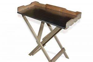 Table basse Table de jardinage en bois, Plateau Zinc, vert B78x T39x H82cm de la marque GartenDepot24 image 0 produit