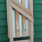 Table basse Table de jardinage en bois, Plateau Zinc, vert B78x T39x H82cm de la marque GartenDepot24 image 4 produit