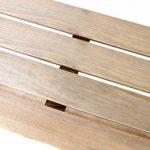 Table de Culture Pliable à Étages en bois Lacewing - L 1.22m x P 35cm de la marque Primrose image 4 produit