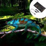 Tapis Chauffant pour Animaux Reptile de Compagnie Coussin Feuille de Chauffage Charge par USB en Fibre de Polyester (avec interrupteur avec thermostat, S:10*20cm) de la marque Sun image 2 produit