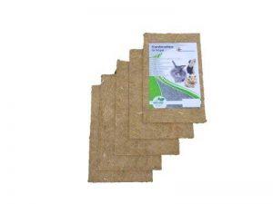 Tapis pour rongeurs en chanvre, 40x 25 cm, épaisseur 10 mm, lot de 5(EUR 3,98/pièce). Tapis en tant que pour les lapins, cochons d'Inde, hamsters, dègues, rats et d'autres rongeurs. de la marque pemmiproducts image 0 produit