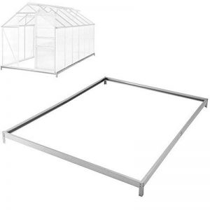 TecTake Serre de jardin avec base alu polycarbonate tente abri plante jardinage - diverses modèles (375x190x12 cm base | No. 402480) de la marque TecTake image 0 produit