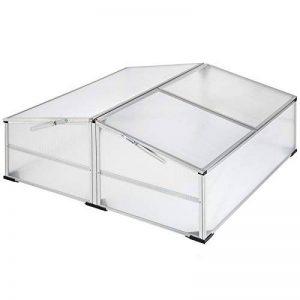 TecTake Serre de jardin en aluminium châssis de couche   matériaux résistants aux intempéries - diverses modèles (modèle 2   no. 402341) de la marque TecTake image 0 produit
